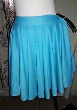 Black Milk Clothing Matte Light Blue Cheerleader Skirt Small