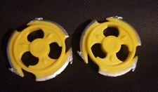 Power Rangers Ninja Storm Yellow Wind Battle Action Figure Repacement Blade