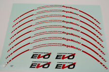 """JAPAN MATERIAL 15"""" EVO REGAMASTER HIGH QUALITY REPLACEMENT DECAL STICKER #R035"""