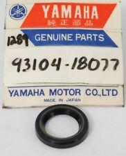 1 NOS Genuine Yamaha IT200 YZ250 YZ490 YZ125 Oil Seal OEM Stock Part 93104-18077
