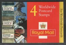 GB QEII MNH STAMP BARCODE BOOKLET GL3a 1998 CYLINDER CYL W1