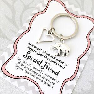 Friendship Special Friend elephant keepsake gift