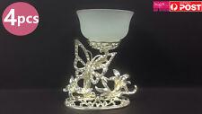 4x Butterfly Garden Tea Light Candle Holder Wedding Party Decoration Gift CHD5x