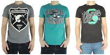 Bequem sitzende JACK & JONES Herren-T-Shirts aus Baumwolle mit Motiv