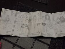 Vintage Barbie Doll Booklet/Manual