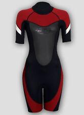 Damen 3mm Shorty Neoprenanzug Tauchanzug Surfanzug   XS S M L XL 2XL 3XL 4XL 5XL