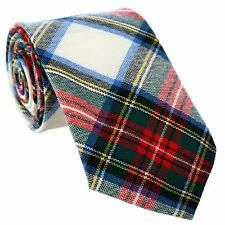 New Scottish Made Kilt 100% Wool UK Stewart Dress Modern Tartan Ties OFr Kilts