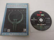 PC Game Quake 2 + Legacy of Kain: Soul Reaver PC CD Lot of 2 Australia Ver