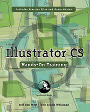 USED (LN) Adobe Illustrator CS Hands-On Training by Jeff VanWest