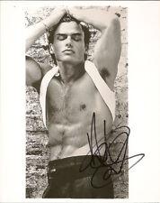 GAY INT SHIRTLESS ANTONIO SABATO JR 8X10 SIGNED  RARE