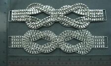 Belt Front Rhinestone Buckles, Fixed rhinestone pc, Sew On Buckles Notions, 1pc