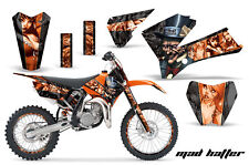 Decal Graphic Kit Sticker Wrap + # Plates For KTM SX85 SX105 2006-2012 MAD O K