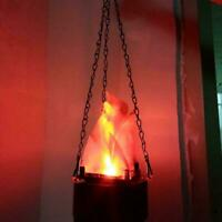 Halloween LED Fake Flame Lamp Torch Night Light Festival Party Club Home Decor