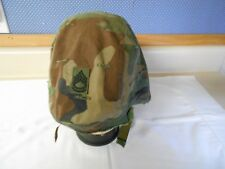 PASGT Helmet Cover, Woodland Camo., Sz. Medium-Large, 1987