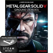 METAL GEAR SOLID V 5 GROUND ZEROES PC STEAM KEY