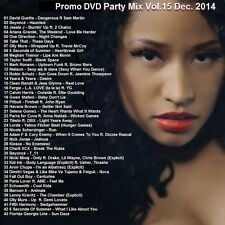Promo Video DVD, 40+ Top Dance Hits DVD Party Mix Dec. 2014 Vol 15, ONLY on Ebay