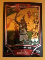 2008-09 Kevin Durant Bowman Chrome 2nd Year Rare Card #69 Brooklyn Nets KD Nice
