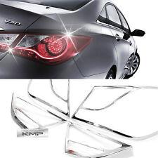 Chrome Rear/Tail Light Lamp Molding Trim Cover For 2011 - 2014 HYUNDAI YF SONATA