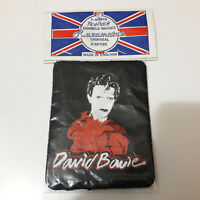 Vintage   DAVID BOWIE     Unused  80s PATCH