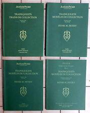 PICARD TRAINS JOUETS TRAINS DE COLLECTION DROUT PARIS 1993/1996 HENRI M. PETIET