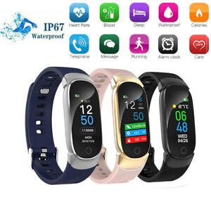 Women Smart Watch Calories Fitness Tracker Sports Bracelet Lady Gifts Waterproof