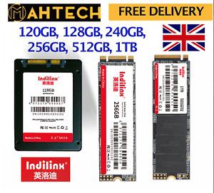 INDILINX SSD NVME M.2 120, 128, 240, 256, 480, 512 GB SSD SATA III HARD DRIVE PC