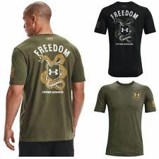 Under Armour 1365438 Men's UA Freedom Snake Graphic Short Sleeve Tee T-Shirt