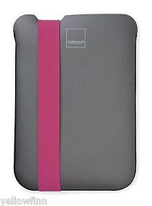 Acme Made Skinny Sleeve Slip Case Cover for iPad 2, 3, 4 - Grey / Pink