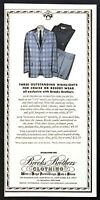 1967 Brooks Brothers Mens Jacket Shirt Cruise or Resort Wear vintage print ad