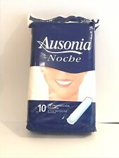 Ausonia Always Night without wings, sanitary napkins, vintage collectible 1990's