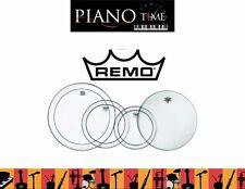 "Remo Drum Head Pack - Pinstripe Fusion Plus 10"", 12"", 16"" + 14"" Amb(PP-1870-PS)"