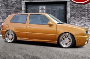 "Side skirts for VW GOLF MK3 3 III 3&5 DOOR ABS Plastic ""Street-X"""