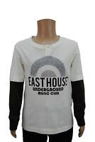 Boys Ex ESPRIT EDC Pique Polo T-Shirt Top Plain Sky Blue Age 2 to 11 Years Kids