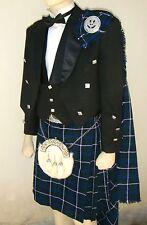 21 pcs | Scottish Prince Charlie Jacket, Vest and Kilt outfit set | PCJK21