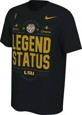 Nike LSU Tigers CFP National Championship Locker Room Tee Size XXL