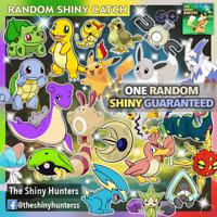 Pokémon GO ✨ One Random Shiny ✨ GUARANTEED CAPTURE - Loads of possibilities!