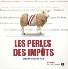 EUGENIE BERTHET LES PERLES DES IMPOTS + PARIS POSTER GUIDE