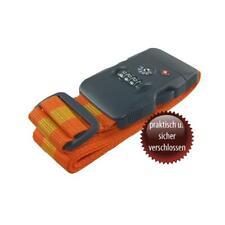 TravelSafe Kofferriemen mit Zahlenschloss Koffergurt Kofferband Gepäckband NEU