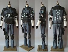 Resident Evil 4 Leon Scott Kennedy's RPD Cosplay Costume Any Size