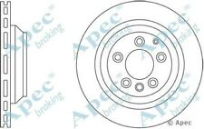 1x OE Quality Replacement Rear Axle Apec Vented Brake Disc 5 Stud 358mm - Pair