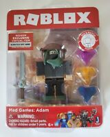 Roblox Mad Games: Adam Figure with Exclusive Virtual Item Game Code New