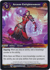WARCRAFT WOW TCG CAVERNS OF TIME : ARCANE ENLIGHTENMENT X 4
