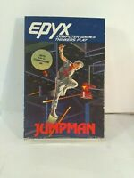 "Jumpman Computer Game Commodore64/128 5.25"" Floppy Disk Epyx 1983 Classic FUN"