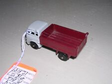 Matchbox #3c  Bedford Tipper Truck 1966 - Maroon & Gray