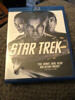 Star Trek (2009) Blu-Ray. LIKE NEW!! Chris Pine.