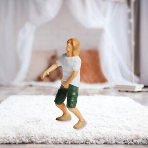 1:87 Miniaturszene People Figures Diorama Painted Human Figure Man