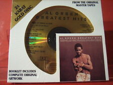 """DCC GZS-1125 AL GREEN """" GREATEST HITS """" (24 KT GOLD COMPACT DISC/FACTORY SEALED)"""