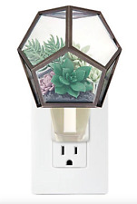 BATH BODY WORKS WALLFLOWERS SUCCULENT TERRARIUM PLUGIN DIFFUSER NEW