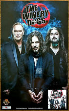 THE WINERY DOGS Hot Streak Ltd Ed Discontinued RARE Poster +FREE Rock Poster!