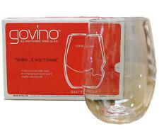Govino Wine 16 Oz Glasses Flexible Shatterproof Recyclable Set of 4
